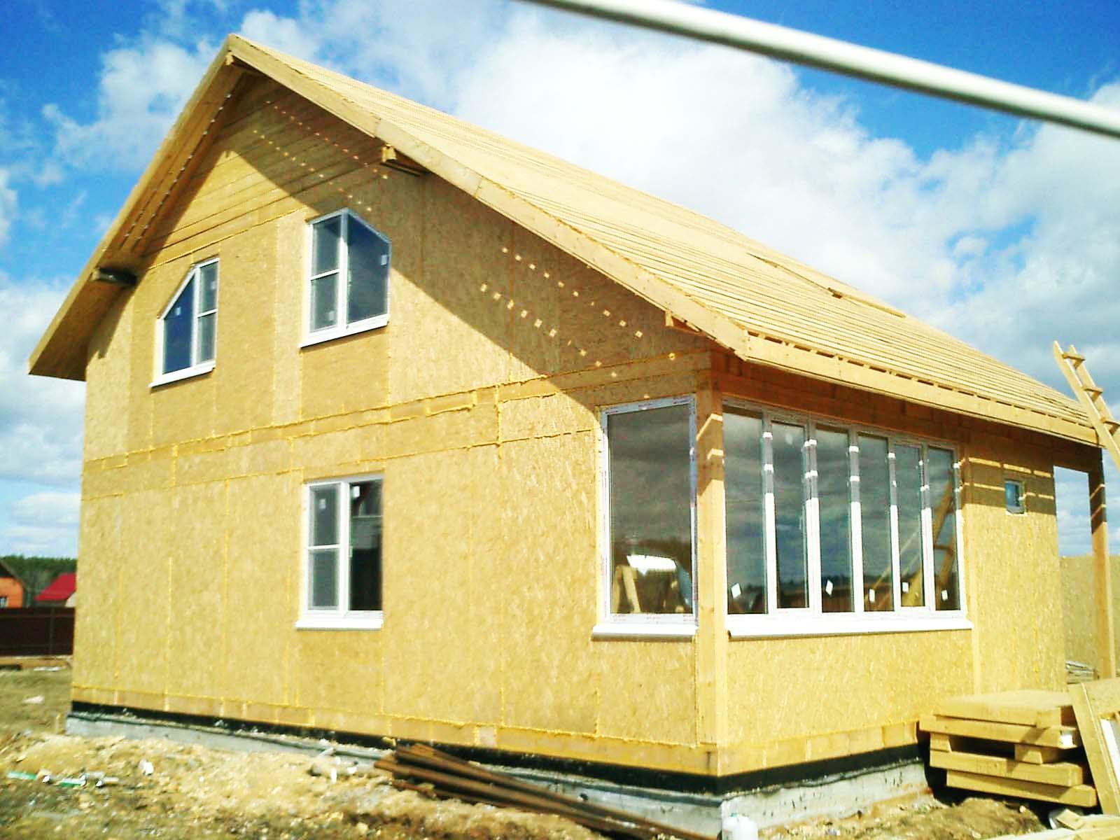 Практическое решение: отопление частного дома из СИП-панелей воздушным тепловым насосом
