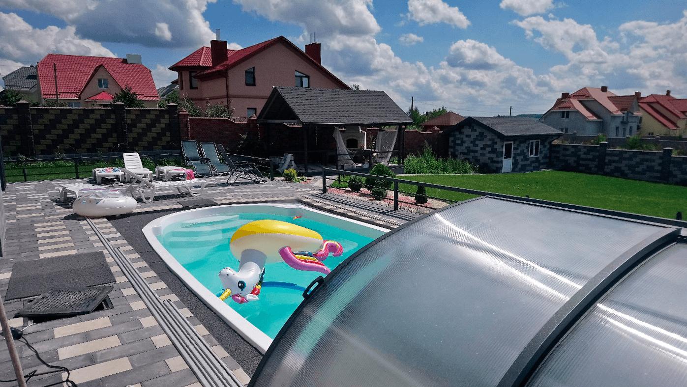 Практическое решение для полнокомфортного тепло- холодоснабжения дома 250 м2 и нагрева воды в открытом бассейне
