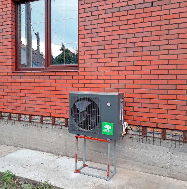 Практическое решение: тепловой насос MYCOND для реконструкции системы отопления частного дома 160 м2